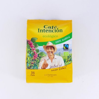 Cafe Intencion ecologico 36 pads