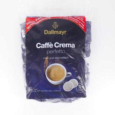Dallmayr cafe crema perfetto mild megabeutel 100 pads