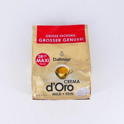 Dallmayr crema doro 28 pads
