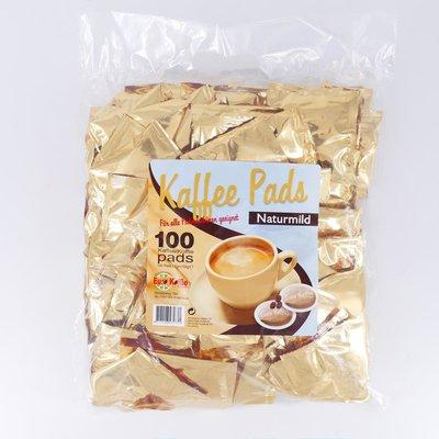 Eurokoffie megazak mild 100 pads