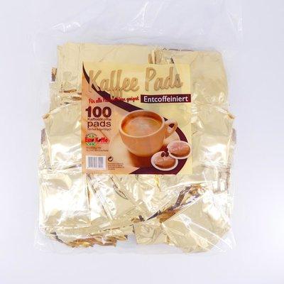 Eurokoffie megazak caffeinevrij 100 pads